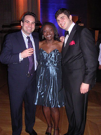 3Ls Karl Brożyna , Feh Gwanyalla, and Andrew Gounardes    (photo courtesy Feh Gwanyalla)